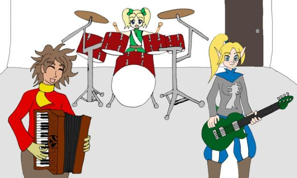 Shot of the Band by keylord