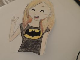 I'm Batman! by heyitszoie