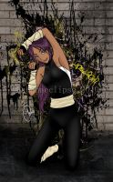 Yoruichi Color by cabanaeclipse