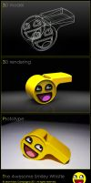 The Awesome Smiley Whistle by DeserkeR