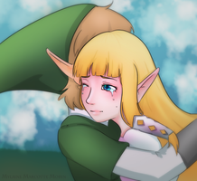 Skyward Sword Fanart by Wyrielle