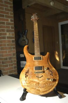 Asian style guitar by Muzoart