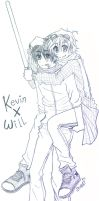 Commission: Kevin x Will by StyleET