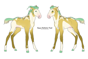 B-1124 :: Foal Design by Kavyrie