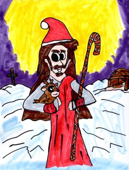 A Christmas Jesus by SonicClone