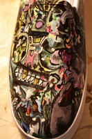abstract graffiti shoes by unverdorben