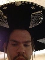Me wearing a sombrero 5 by motorhea