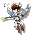 [Kid Icarus] - Pit by eevee2glaceon09