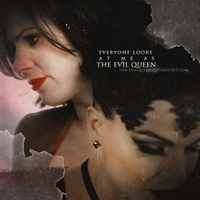 everyone looks at me as the evil queen... by the-evilqueen