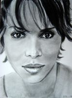 Halle Berry by singsang