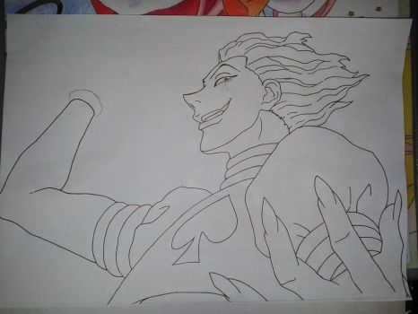 Hisoka (hunter x hunter) WIP by lucasnava