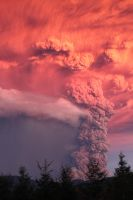 Volcano in CHILE by IManeI