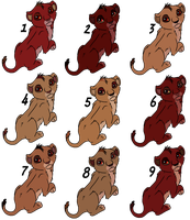Free Breedable Litter 15 - OPEN - by Soufroma