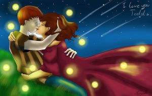 Valentines In the Night Sky by Little-Miss-Mello