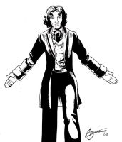 The 8th Doctor by Elyssiel