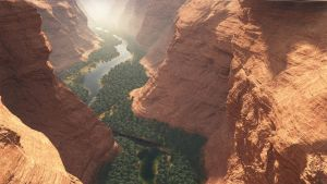 Canyon River - WIP by Gannaingh32