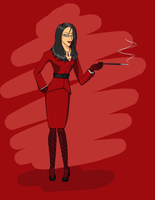 OC Fem Spy - Finished by reaper600