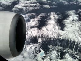 Over the Rockies by Vonburgherstein