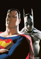 Batman and Superman by arabdel