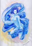 Water Lady by Karuley