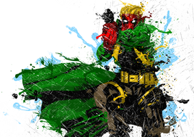 Jim Lee's Wild C.A.T.s Grifter 2 by UltimateOshima