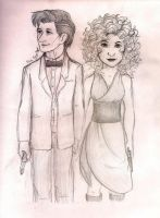 The Doctor and River Song by TheBritishGeek