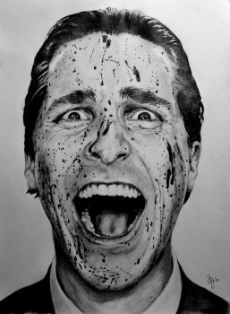 Psycho Bale by Chunkybeefpainting