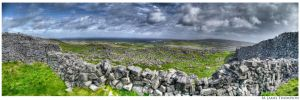 Inishmore Panorama by MJamesThompson