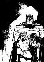 Batman and Robin by FrancescoIaquinta