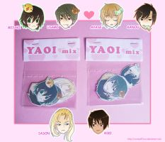 Yaoi stickers by xxxKei87xxx