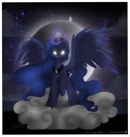 The Princess of the Night by Drawing-Heart