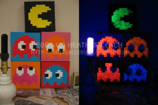 Pac-Man Set 03 by 8bitgallery