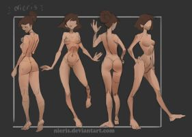Gestures study- theme Stand #5 by Nieris