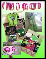 My Invader Zim Merchandise Collection oAo by CritterInvasion