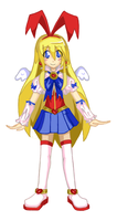 Hyper Guardian Galaxy Flonne by shadowdancer09