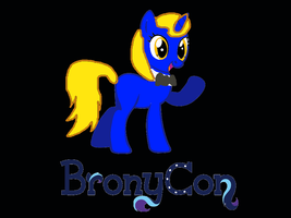 Bronycon 2015 poster by potatopear