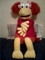 Red Fraggle Plush - Huge by TomFraggle