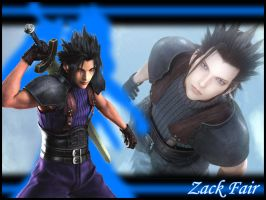 FFVII:CC - Zack Wallpaper by Orga-Kuttie-Tarka