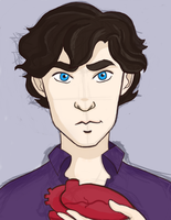 Sherlock's Heart by geek-i-licious