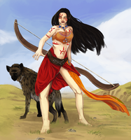 The Huntress by Maheby