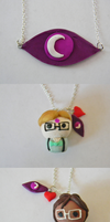 Welcome to Nightvale Necklace Set by TheIrishAngel
