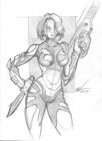 Gamora by zookeeper02