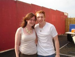 Me and Rupert Grint by Twilite91