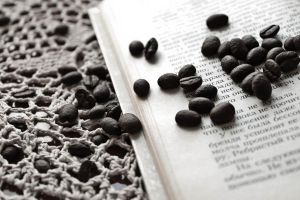 coffee beans by AnastasiiaS
