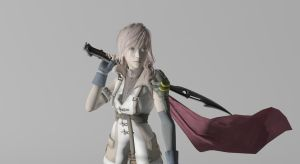 Lightning 3D Render by Wellsy71
