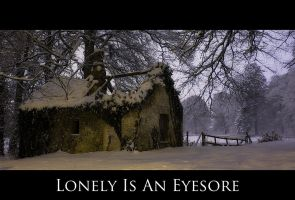Lonely Is An Eyesore by SneachtaPix