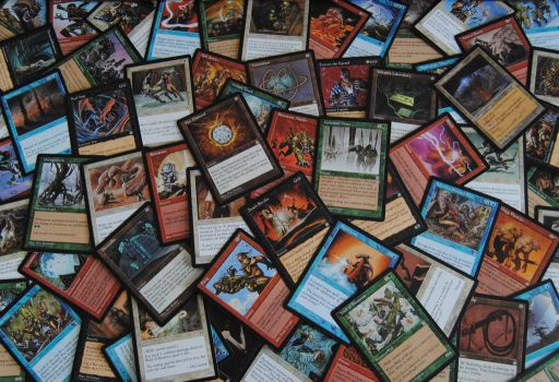 Magic: The Gathering Stronghold Expansion Set by agentpalmer