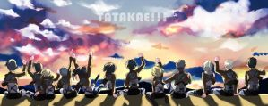 TATAKAE !!! by tiaproject