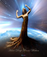 Have Deep Roots Within by AVAdesign