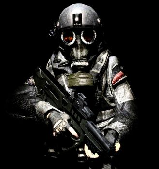 Fear the Gas Mask by LordHayabusa357
